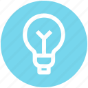 bulb, idea, light, light bulb, power