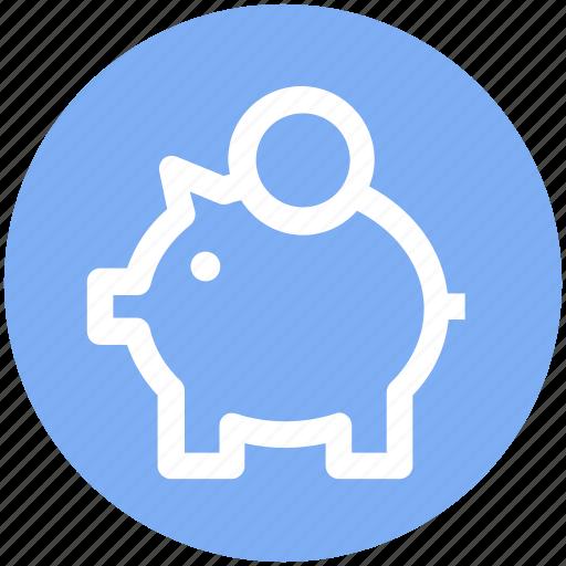 Banking, dollar, dollar saving, money, piggy, piggy bank, savings icon - Download on Iconfinder