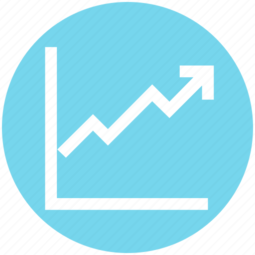 Arrow, business, chart, dashboard, graph, growth, up icon - Download on Iconfinder