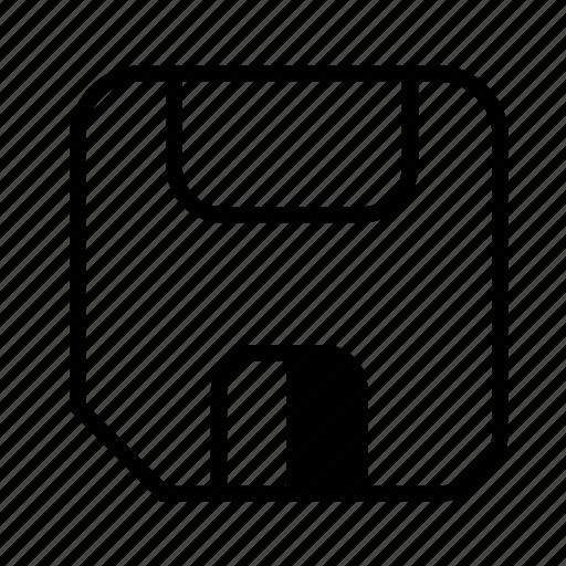 Disk, floppy, guardar, save icon - Download on Iconfinder