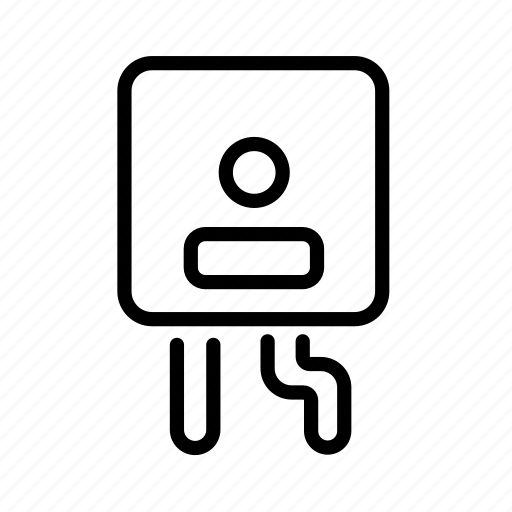 Boilet, heater, water, water heater icon - Download on Iconfinder