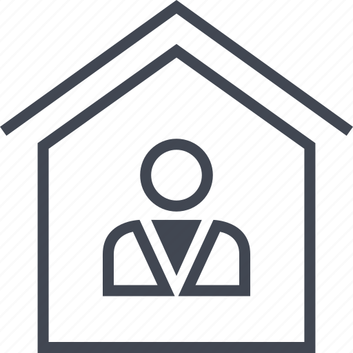 buyer, estate, home, house, real, realtor, seller icon