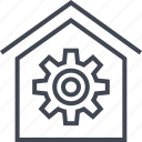 home, house, option, settings icon