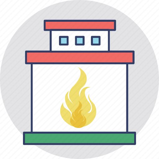 Fire house icon