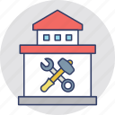 garage, home construction, home repair, repair, workshop