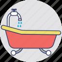 shower tub, bathroom, bathtub, jacuzzi tub, bath