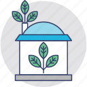 eco friendly, eco house, ecology, glasshouse, greenhouse icon