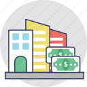asset pricing, house financing, house price, property price, property value icon