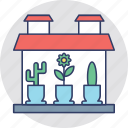 ecology, gardening, house plants, indoor plants, potted plants icon