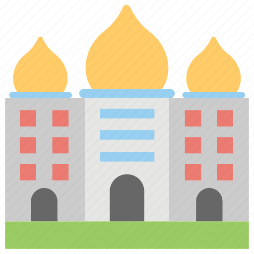 building, cottage, museum, shack, tomb icon