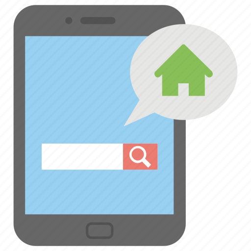 find property, online mortgage, online property search, online real estate, property app icon