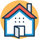 cottage, home, rural house, shack, shed icon