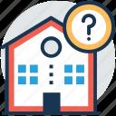 estate helpdesk, home faq, pricing faq, property information, real estate faq icon