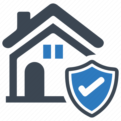 building, home mortgage, property, real estate, safe, secure, security icon