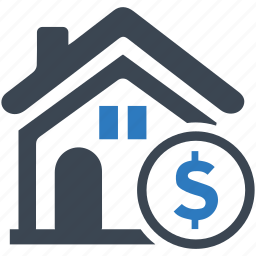 finance, home, house, investment, price, property, real estate icon