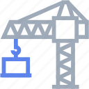 construction, crane, equipment icon