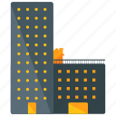 apartment, building icon