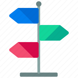 arrows, directions icon