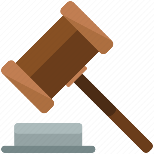 Gavel, law, legal icon - Download on Iconfinder