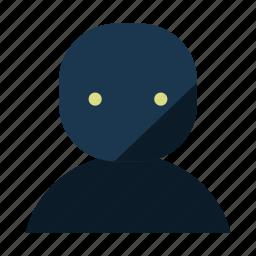 account, man, user icon