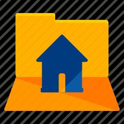 estate, folder, real icon