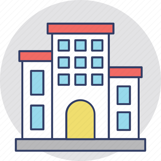 apartments, architecture, city building, mansion, real estate icon