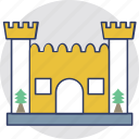 building, castle, fortress, historical building, tower