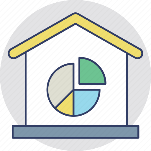 Bar graphic, housing market graph, housing market stats, property price trends, real estate statistics icon - Download on Iconfinder