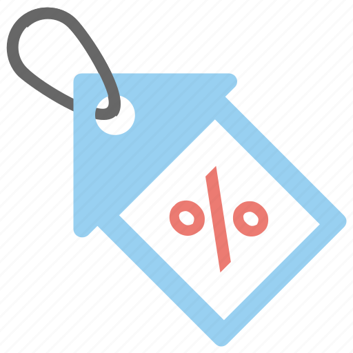 allotment, deal tag, discount tag, mortgage percentage, percentage tag icon