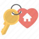 access, house key, key, lock key, sweet home key icon