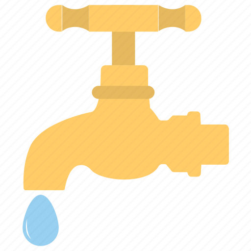 faucet, tap, water supply, water system, water tap icon