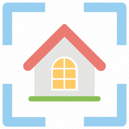 focus on home, home center, home target, property goal, real esate icon