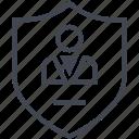 internet, safe, secure, secured icon