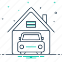 automotive, garage, professional, workshop icon