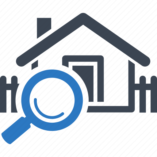 Find home house real estate search home icon icon for Home searcher
