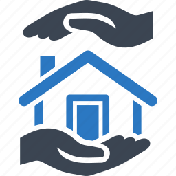 home insurance, house, protection, real estate icon