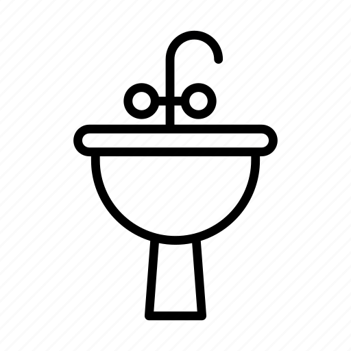 Bathroom, faucet, null, sink, wash icon - Download on Iconfinder