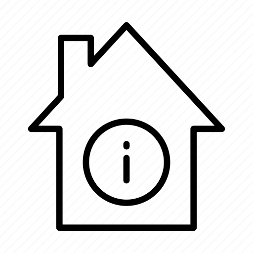 apartment, building, home, house, info icon