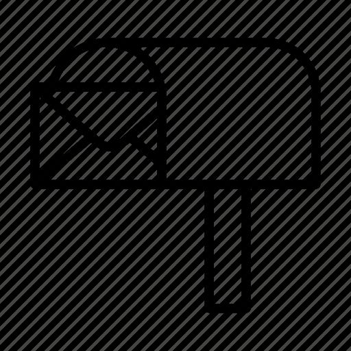 Email, envelope, letter, letterbox, postoffice icon - Download on Iconfinder
