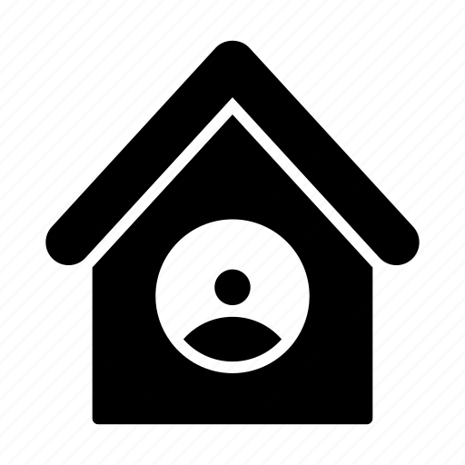 apartment, avatar, building, house, user icon