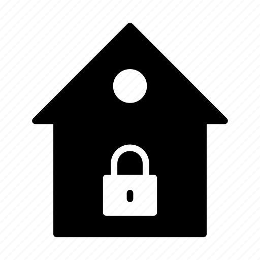Building, home, house, lock, realestate icon - Download on Iconfinder