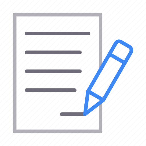 Contract, document, paper, sheet, sign icon - Download on Iconfinder