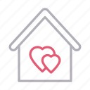 building, favorite, home, house, realestate icon