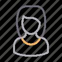 avatar, female, girl, user, women