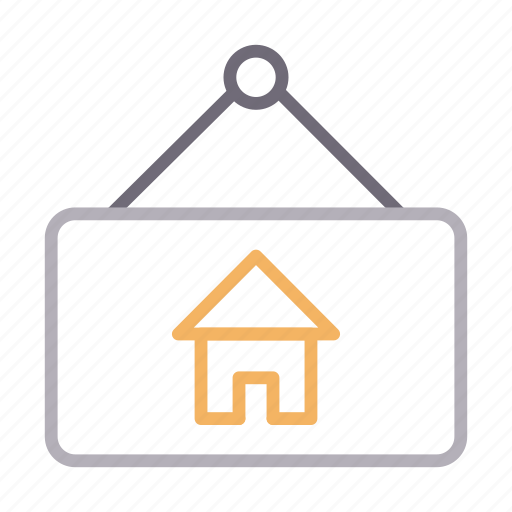 Board, construction, hanging, home, house icon - Download on Iconfinder