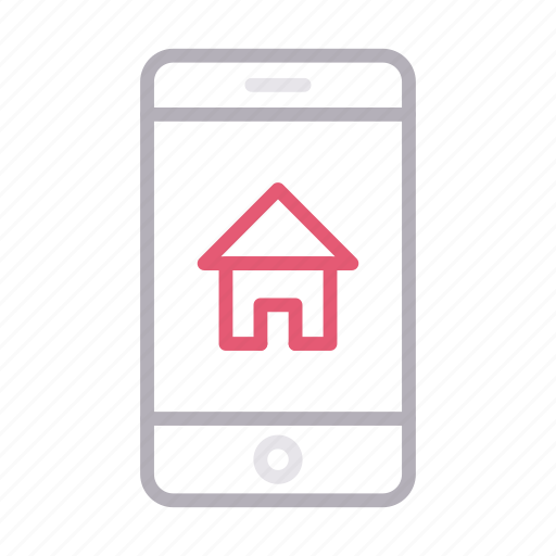 Building, house, mobile, online, realestate icon - Download on Iconfinder