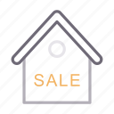 building, home, house, realestate, sale icon