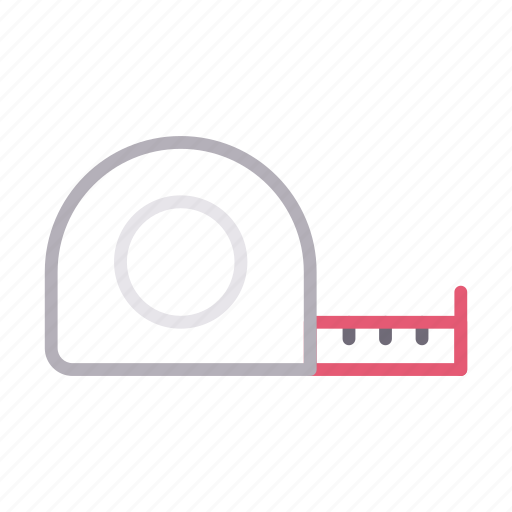 Building, construction, measure, tape, tools icon - Download on Iconfinder