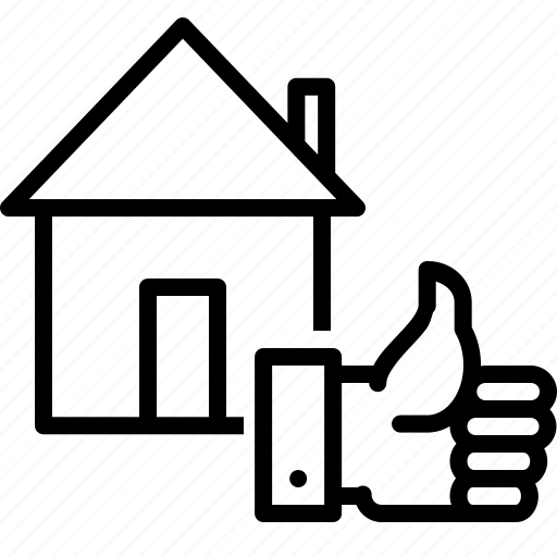 building, deal, estate, home, house, property, rent icon
