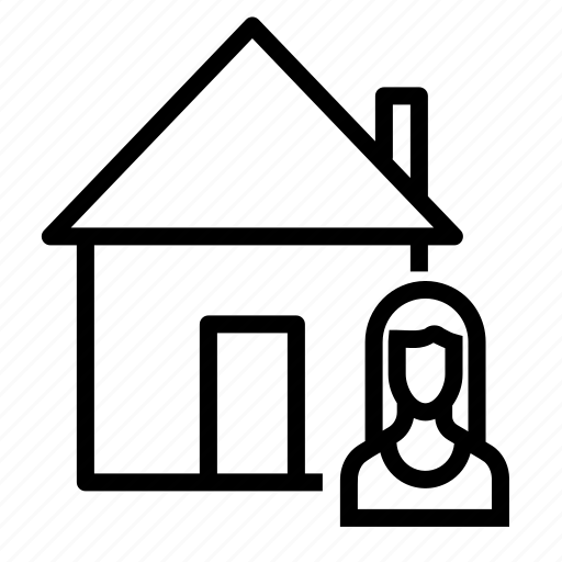 building, buyer, estate, home, house, real, seller icon
